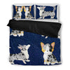 Cute Cardigan Welsh Corgi Print Bedding Set- Free Shipping