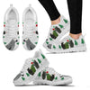 African Grey Parrot Christmas Print Running Shoes For Women-Free Shipping