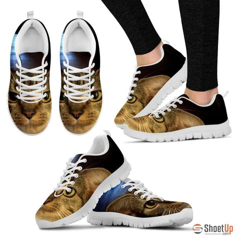 Donna J Hunt Wiest/Cat-Running Shoes For Women-3D Print-Free Shipping