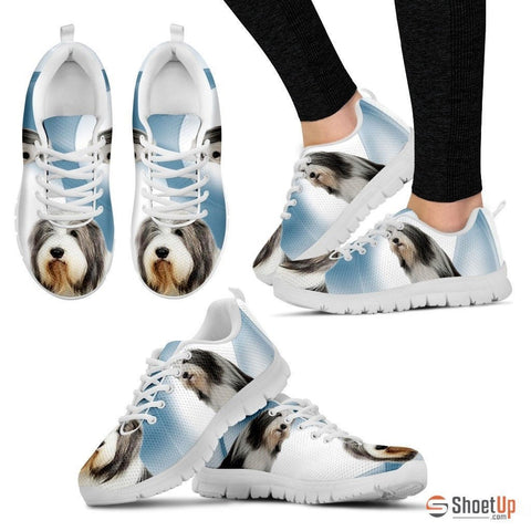 Bearded Collie Dog Running Shoes For Women-Free Shipping