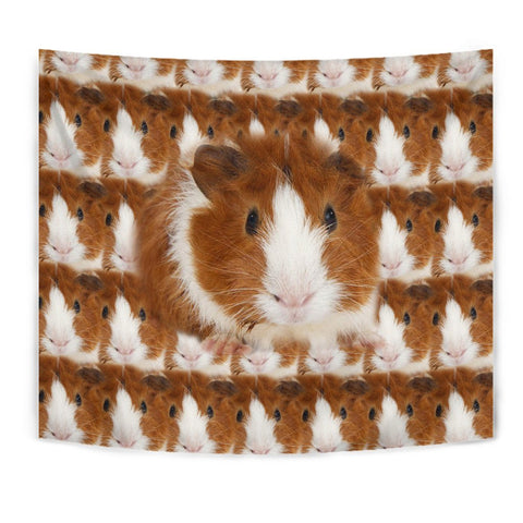 Abyssinian guinea pig Print Tapestry-Free Shipping