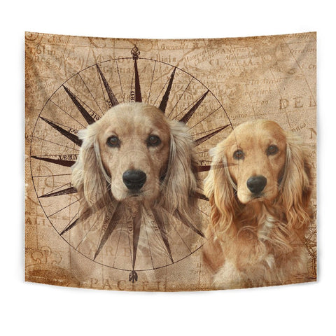 Amazing English Cocker Spaniel Print Tapesstry-Free Shipping