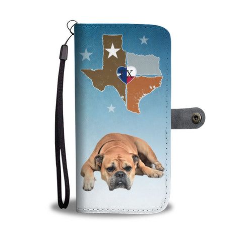 Bullmastiff Dog Print Wallet Case-Free Shipping-TX State