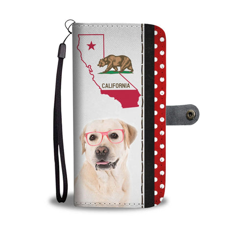 Labrador Retriever Print Wallet Case-Free Shipping-CA State