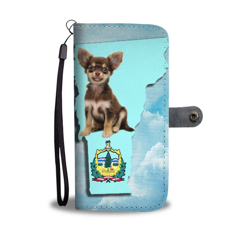 Cute Chihuahua Print Wallet Case-Free Shipping-VT State