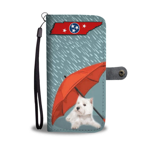 West Highland White Terrier (Westie) Print Wallet Case-Free Shipping-TN State