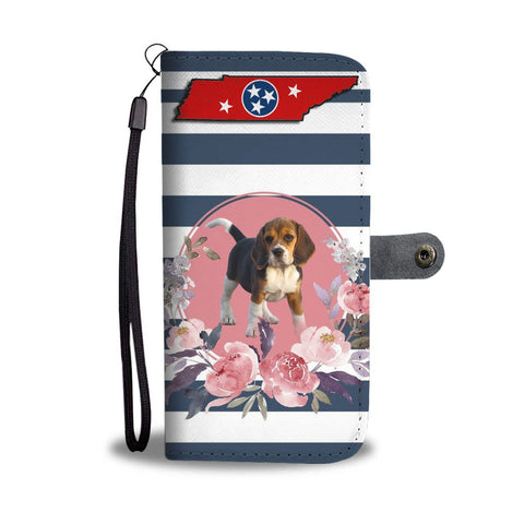 Beagle Print Wallet Case-Free Shipping-TN State