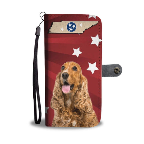 Cocker Spaniel Print Wallet Case-Free Shipping-TN State