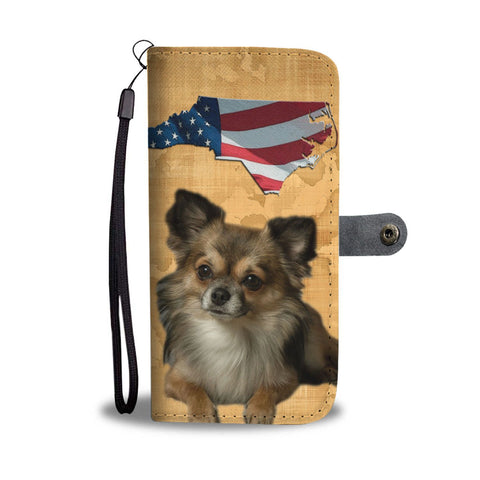 Chihuahua Print Wallet Case-Free Shipping-NC State