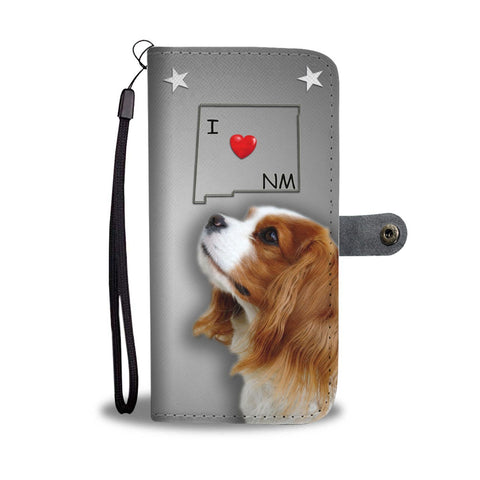 Cavalier King Charles Spaniel Print Wallet Case-Free Shipping-NM State