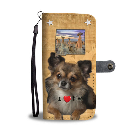 Chihuahua Print Wallet Case-Free Shipping-NM State