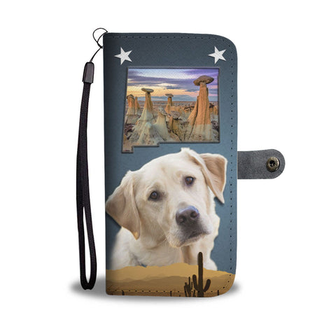 Labrador Retriever Print Wallet Case-Free Shipping-NM State
