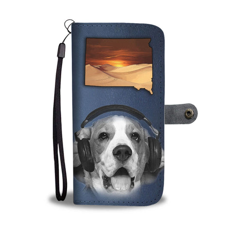 Beagle Dog Print Wallet Case-Free Shipping-SD State