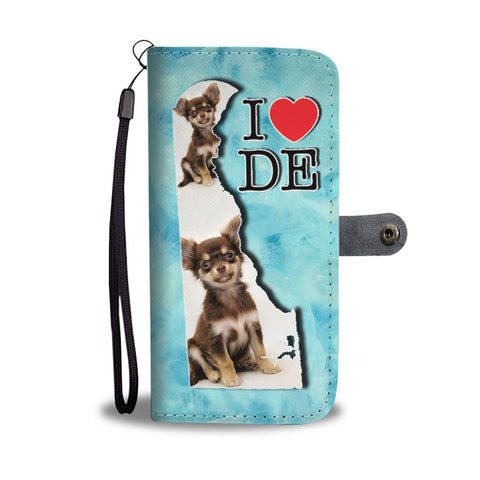 Lovely Chihuahua Dog Print Wallet Case-Free Shipping-DE State