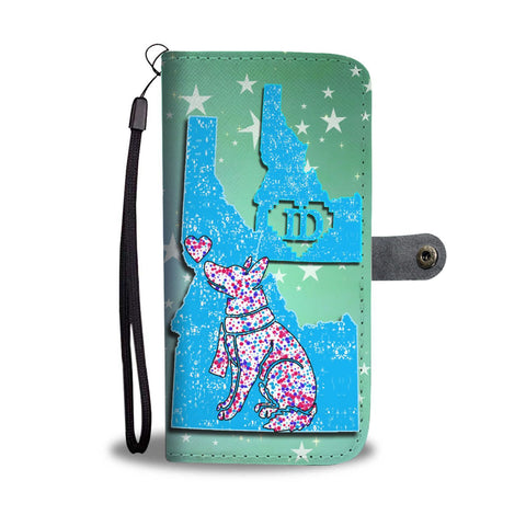 German Shepherd Dog Art Print Wallet Case-Free Shipping-ID State