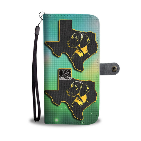 Vizsla Dog Golden Art Print Wallet Case-Free Shipping-TX State