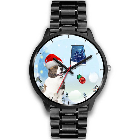 Cardigan Welsh Corgi Alabama Christmas Special Wrist Watch-Free Shipping