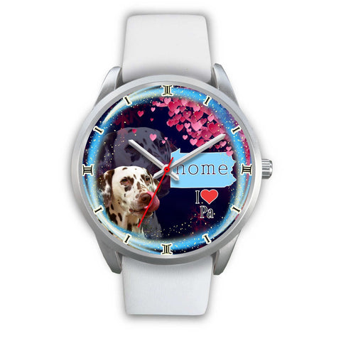 Lovely Dalmatian Dog Pennsylvania Christmas Special Wrist Watch-Free Shipping
