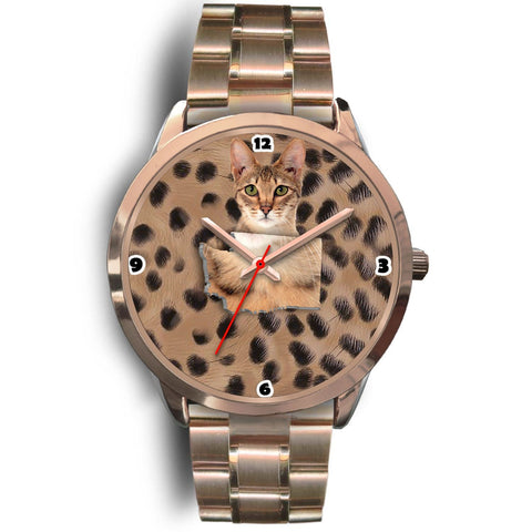Savannah Cat Washington Christmas Special Wrist Watch-Free Shipping