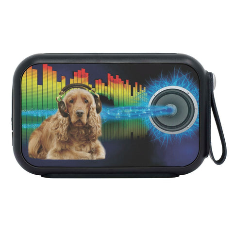 Cocker Spaniel Print Bluetooth Speaker