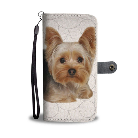 Yorkshire Terrier (Yorkie) Print Wallet Case-Free Shipping