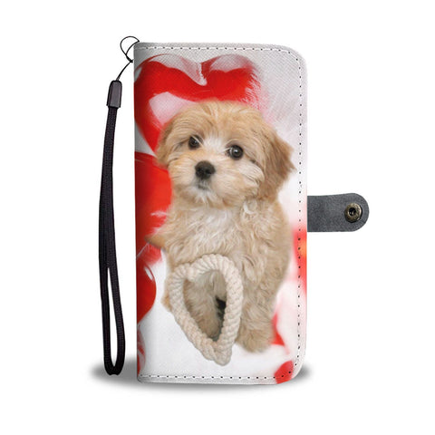 Cavapoo Dog Wallet Case- Free Shipping