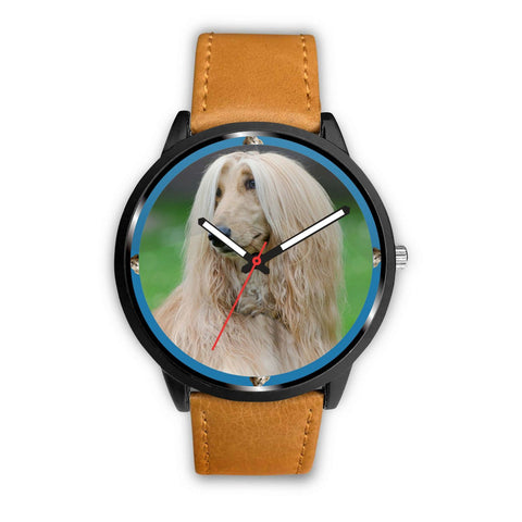 Afghan Hound Dog Print Wrist watch - Free Shipping