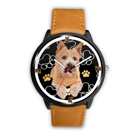 Norwich Terrier Dog Paws Print Wrist watch - Free Shipping