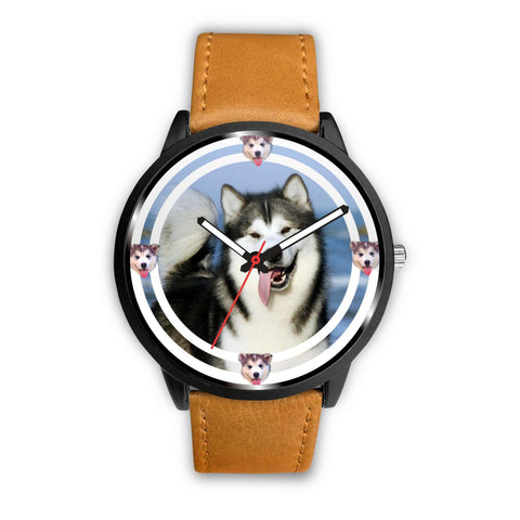 Lovely Alaskan Malamute Dog Print Wrist watch - Free Shipping
