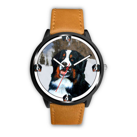 Amazing Bernese Mountain Dog Print Wrist watch - Free Shipping