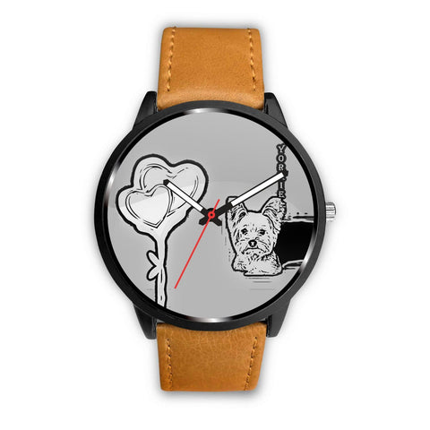 Cute Yorkshire Terrier (Yorkie) Print Wrist Watch-Free Shipping