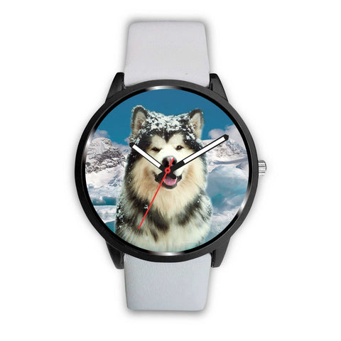 Alaskan Malamute Dog Print Wrist Watch - Free Shipping