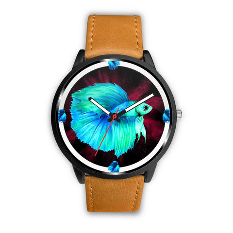 Siamese Fighting Fish (Betta Fish) Art Print Wrist watch - Free Shipping