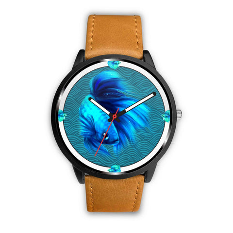 Siamese Fighting Fish (Betta Fish) Print Wrist watch - Free Shipping