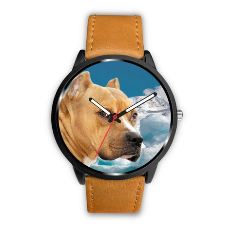 American Staffordshire Terrier Print Wrist Watch - Free Shipping