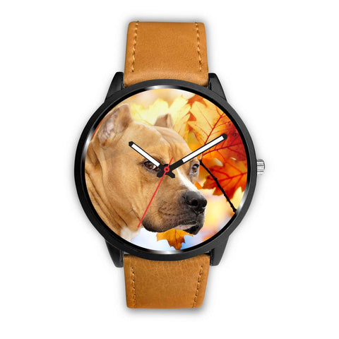 Cute American Staffordshire Terrier Print Wrist Watch - Free Shipping