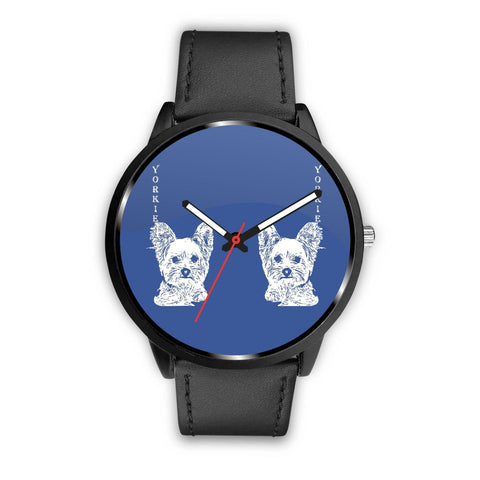Cute Yorkshire Terrier (Yorkie) Dog Print Wrist Watch-Free Shipping