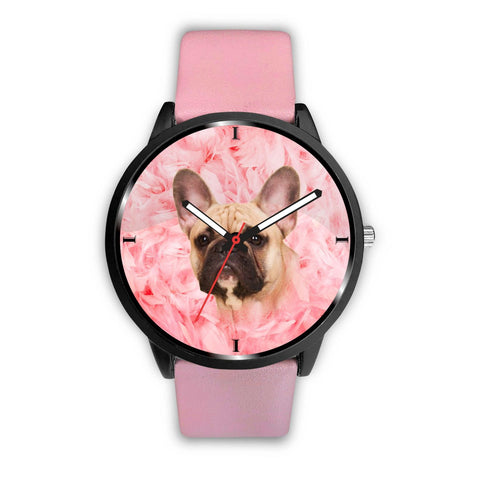 French Bulldog Print Wrist Watch- Free Shipping