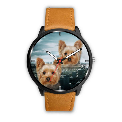 Yorkshire Terrier Print Wrist Watch- Free Shipping