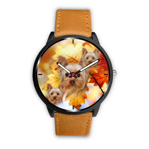 Cute Yorkshire Terrier Dog Print Wrist Watch- Free Shipping