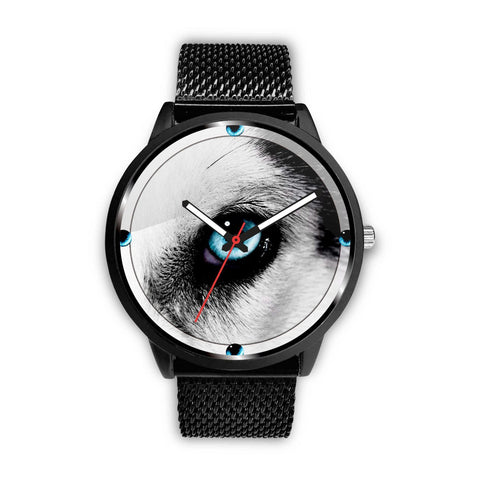 Siberian Husky Dog Eye Print Wrist watch - Free Shipping