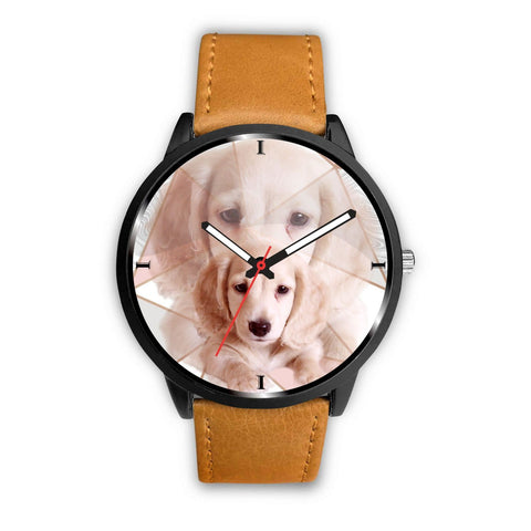 Lovely Dachshund Print Wrist Watch - Free Shipping
