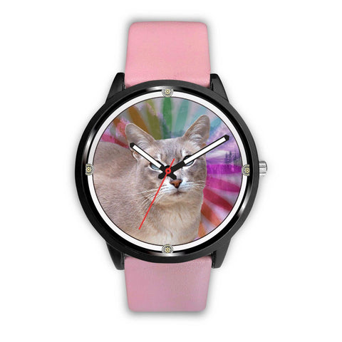 Tokinese Cat Art  Print Wrist Watch - Free Shipping
