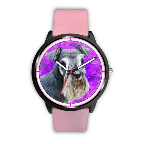 Amazing Schnauzer Dog Print Wrist Watch - Free Shipping