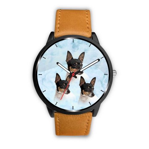 Toy Fox Terrier Print Wrist Watch-Free Shipping