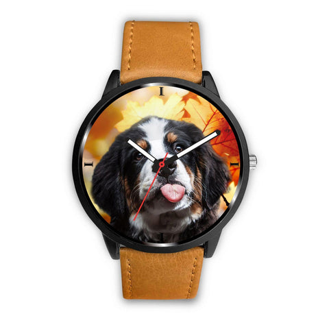 Cute Bernese Mountain Dog Print Wrist Watch - Free Shipping