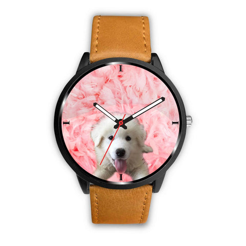 Labradoodle On Pink Print Wrist Watch - Free Shipping