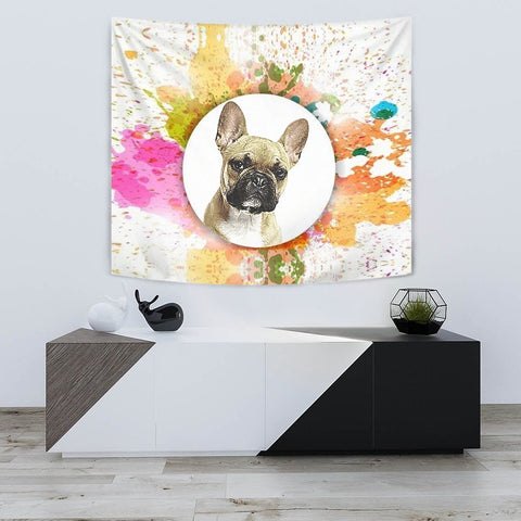 French Bulldog Print Tapestry-Free Shipping