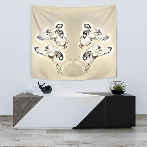 Amazing Whippet Dog Print Tapestry-Free Shipping