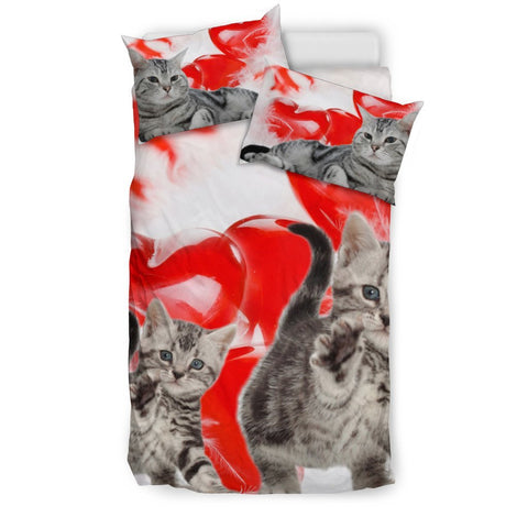 American Shorthair Print Bedding Set- Free Shipping